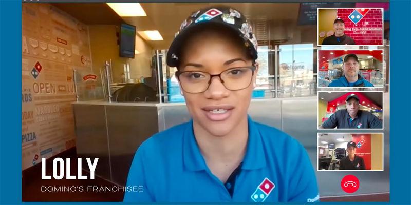 Laptop-Filmed Pizza Ads