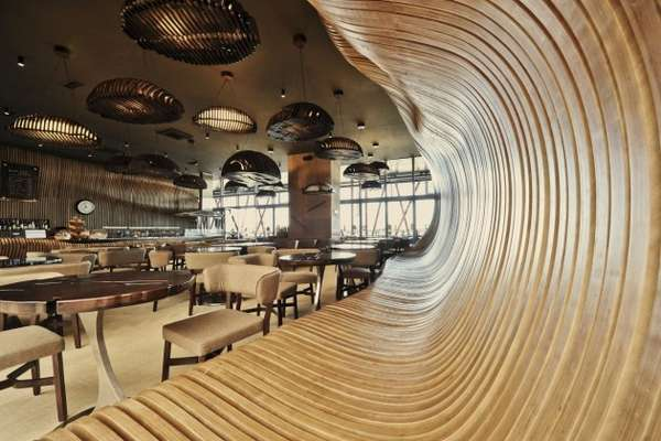 Wavy Wood Coffeeshops