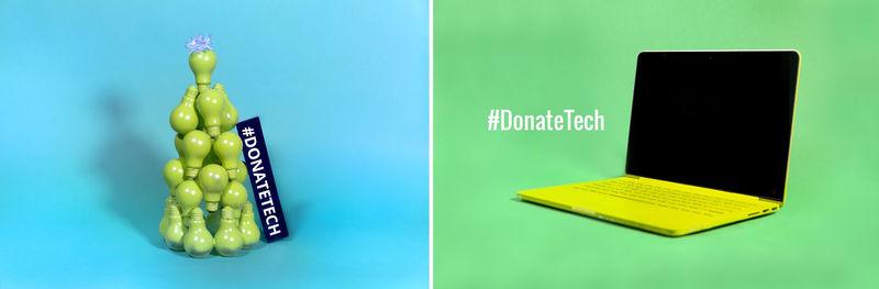 Tech Donation Campaigns