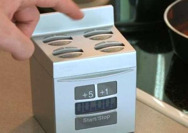 Stove-Shaped Cooking Clocks
