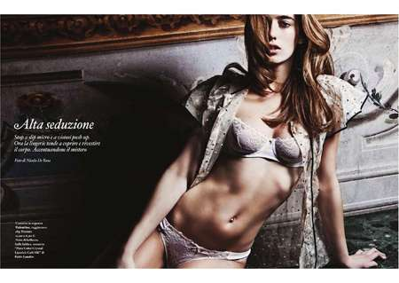 Lingerie Lounging Editorials