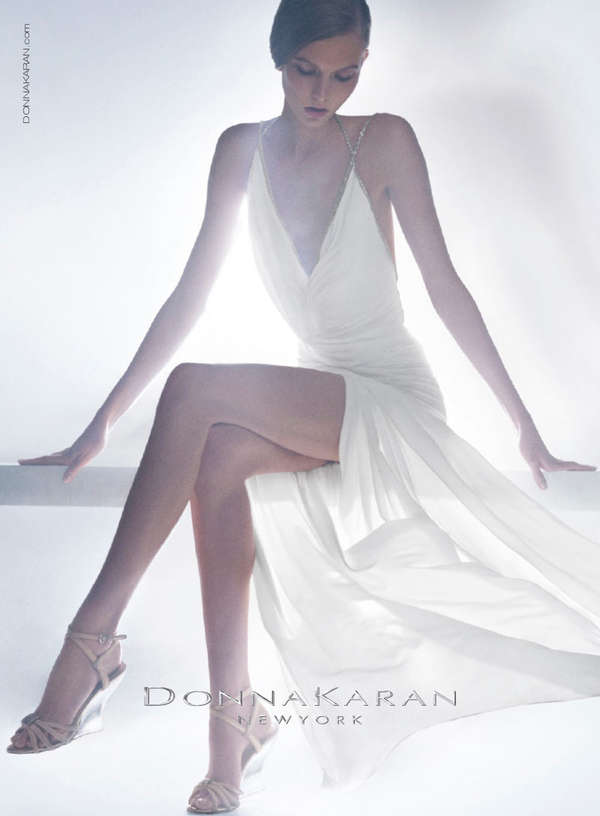 Ethereal Gown Fashion Ads