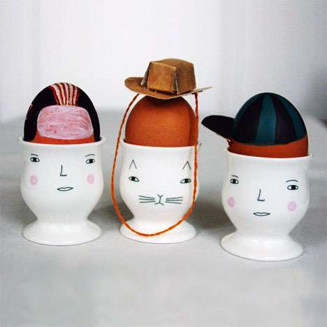 Purrrfectly Quirky Egg Cups