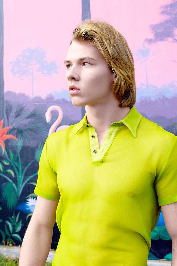Eccentric Neon Menswear