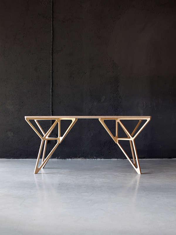 Geometrically Framed Furnishings