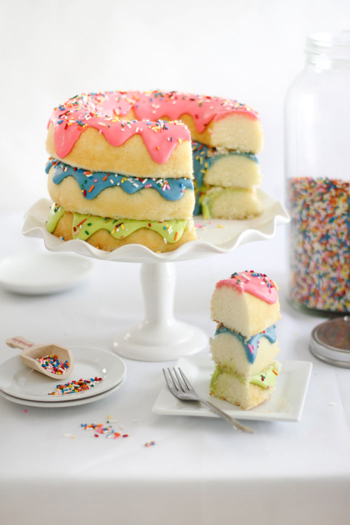 Stacked Donut Cakes