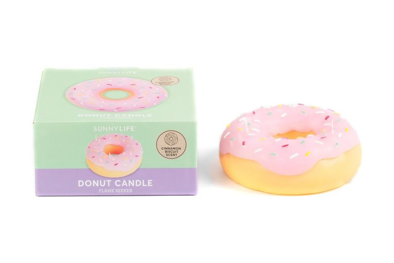 Sweetly Scented Donut-Shaped Candles