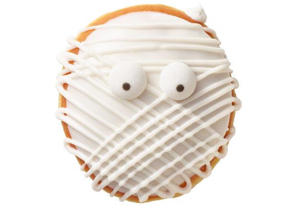 Mummified Halloween Donuts