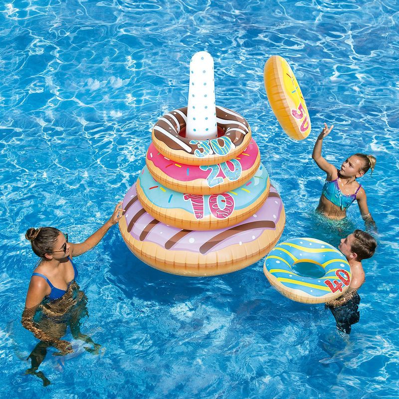 Inflatable Donut Pool Games