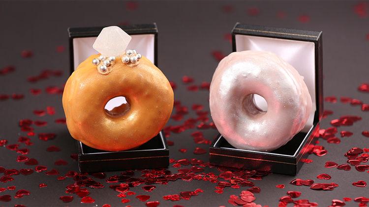Romantic Donut Rings