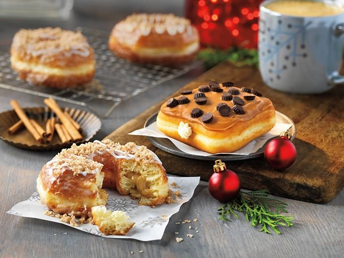 Holiday-Inspired Donut Menus