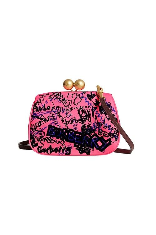 Vintage-Inspired Graffiti Bags