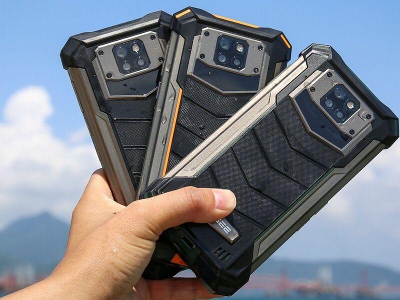 Rugged Expansive Display Smartphones