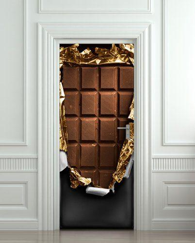 Chocolate Door Decals Door Decals