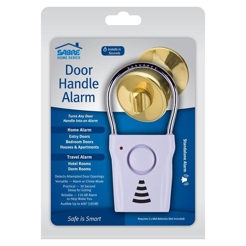 Vibration-Sensing Door Alarms : door handle alarm
