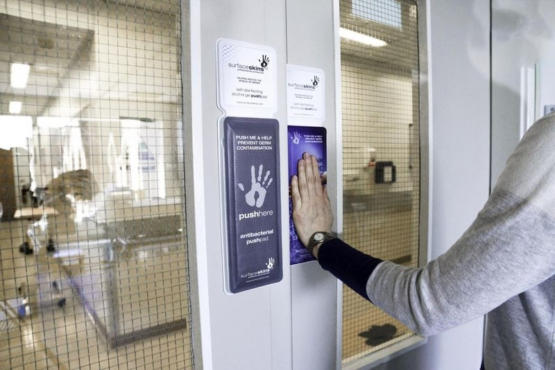 Anti-Bacterial Door Pads