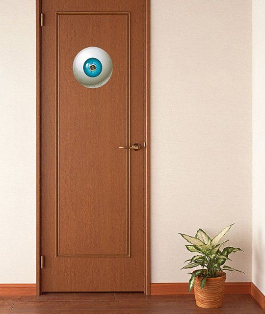 Ominous Eye Door Stickers