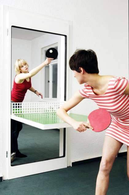 Convertible Door + Ping Pong Table