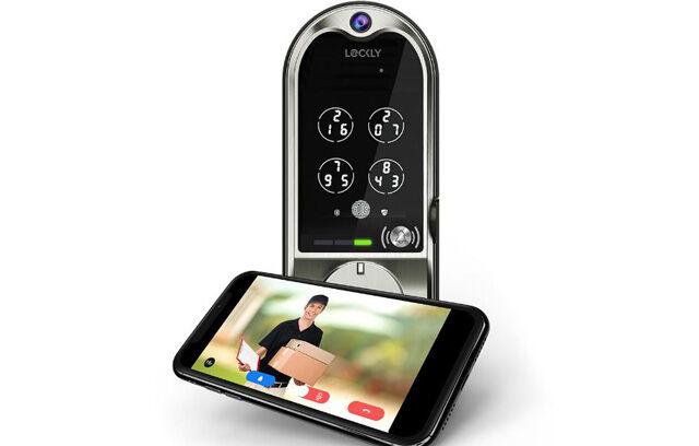 Security Camera Smart Locks