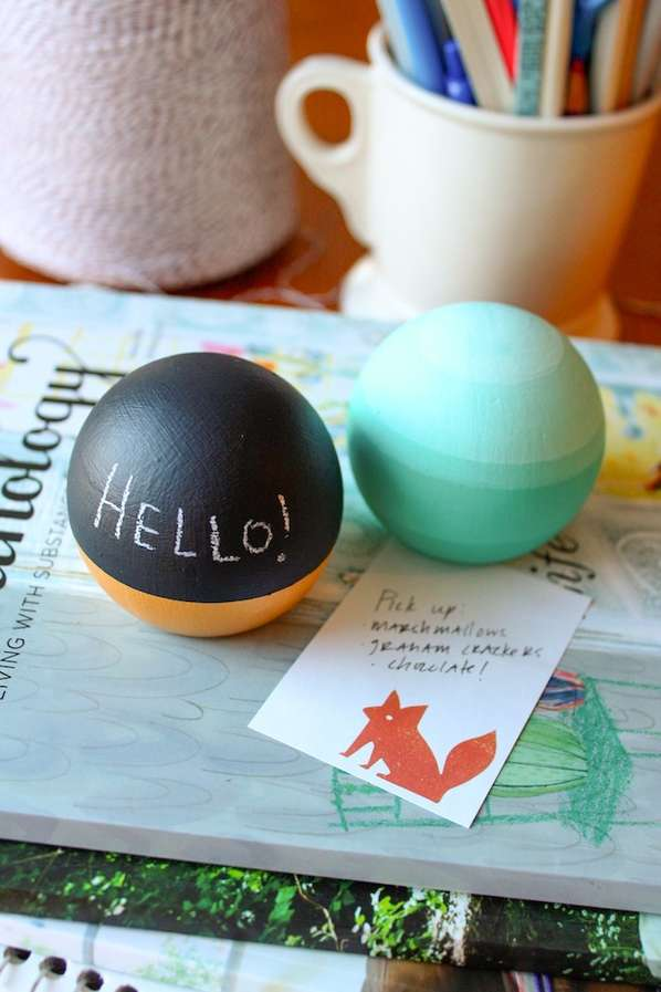 Upcycled Doorknob Paperweights
