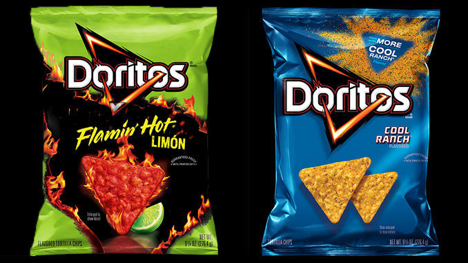 Flavor-Packed Corn Chips