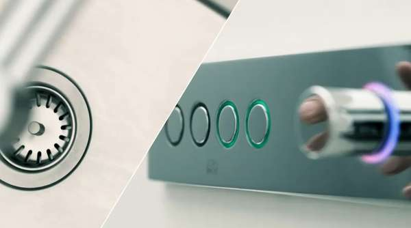 Futuristic Touch Faucets
