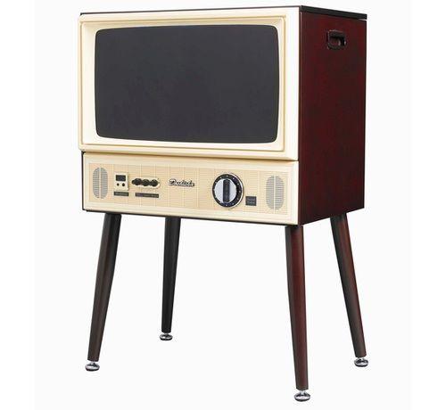 Faux-Retro Flatscreen TVs
