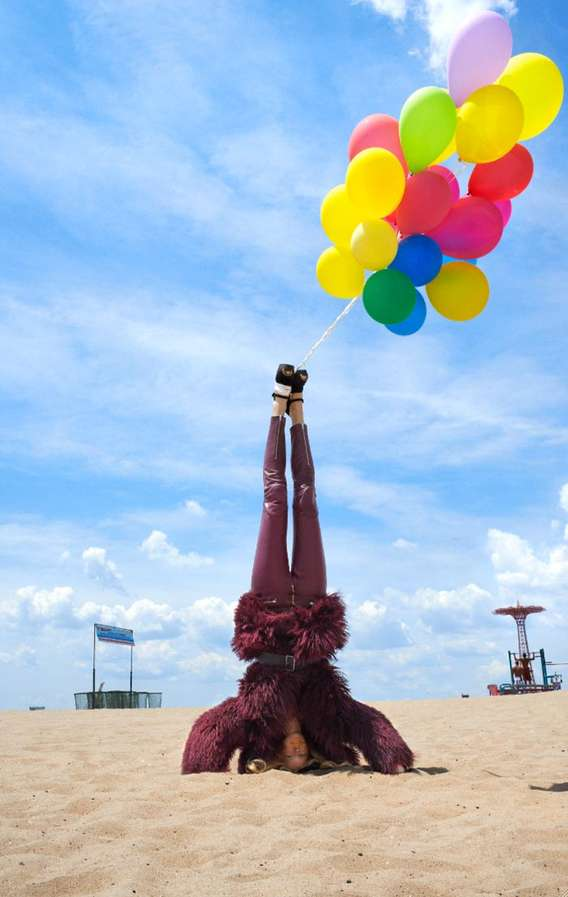 Quirky Headstand Editorials