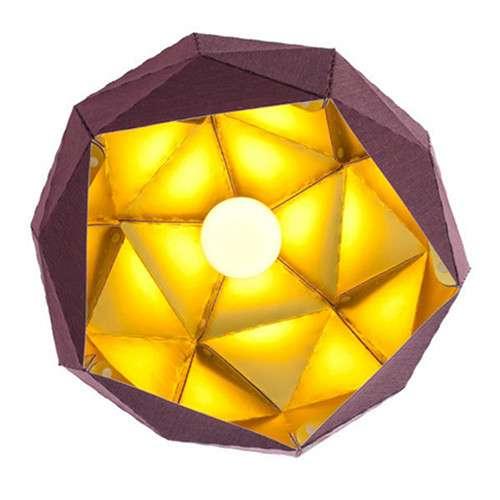 Hexagonal Hanging Lighting