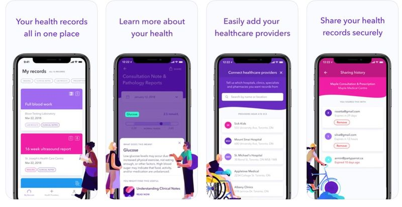 Virtual Health Record Apps
