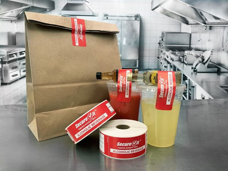 Take-Out Alcohol Labels
