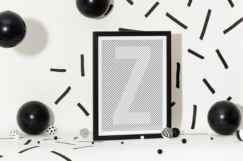 Halftone Alphabetic Art