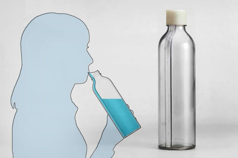 Accessible Straw-Equipped Bottles