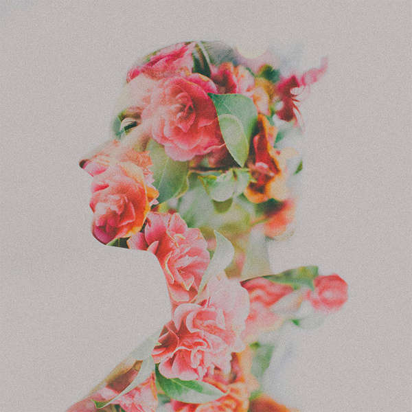 Multiple Exposure Floral Photography