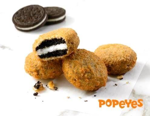 Deep Fried Cookie Bites