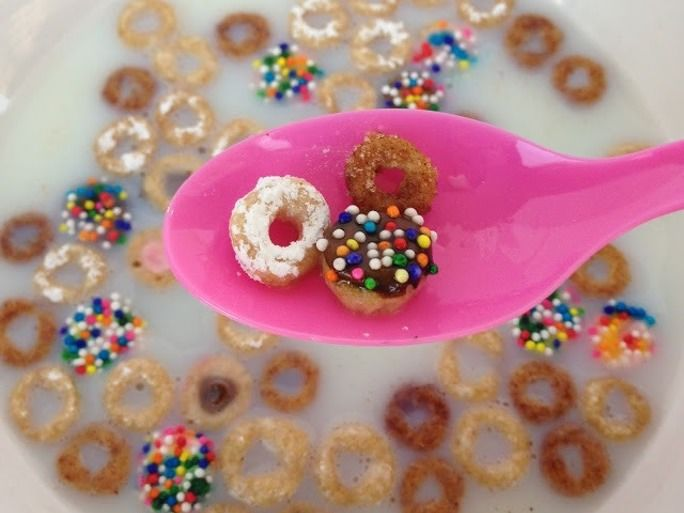 Miniature Cereal Desserts