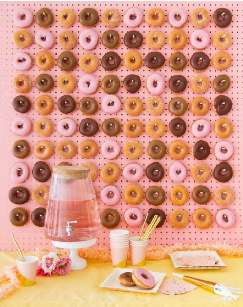 Donut-Covered Walls