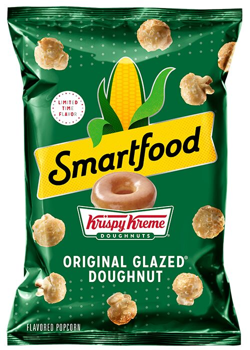 Doughnut-Flavored Popcorn Snacks