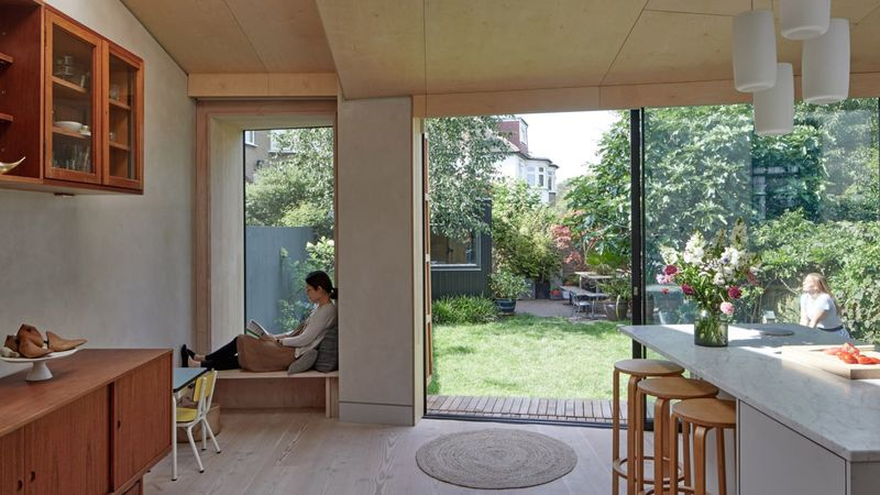 Ultra-Cozy Wooden House Extensions