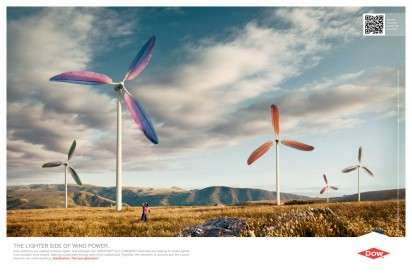 Feather Turbine Ads