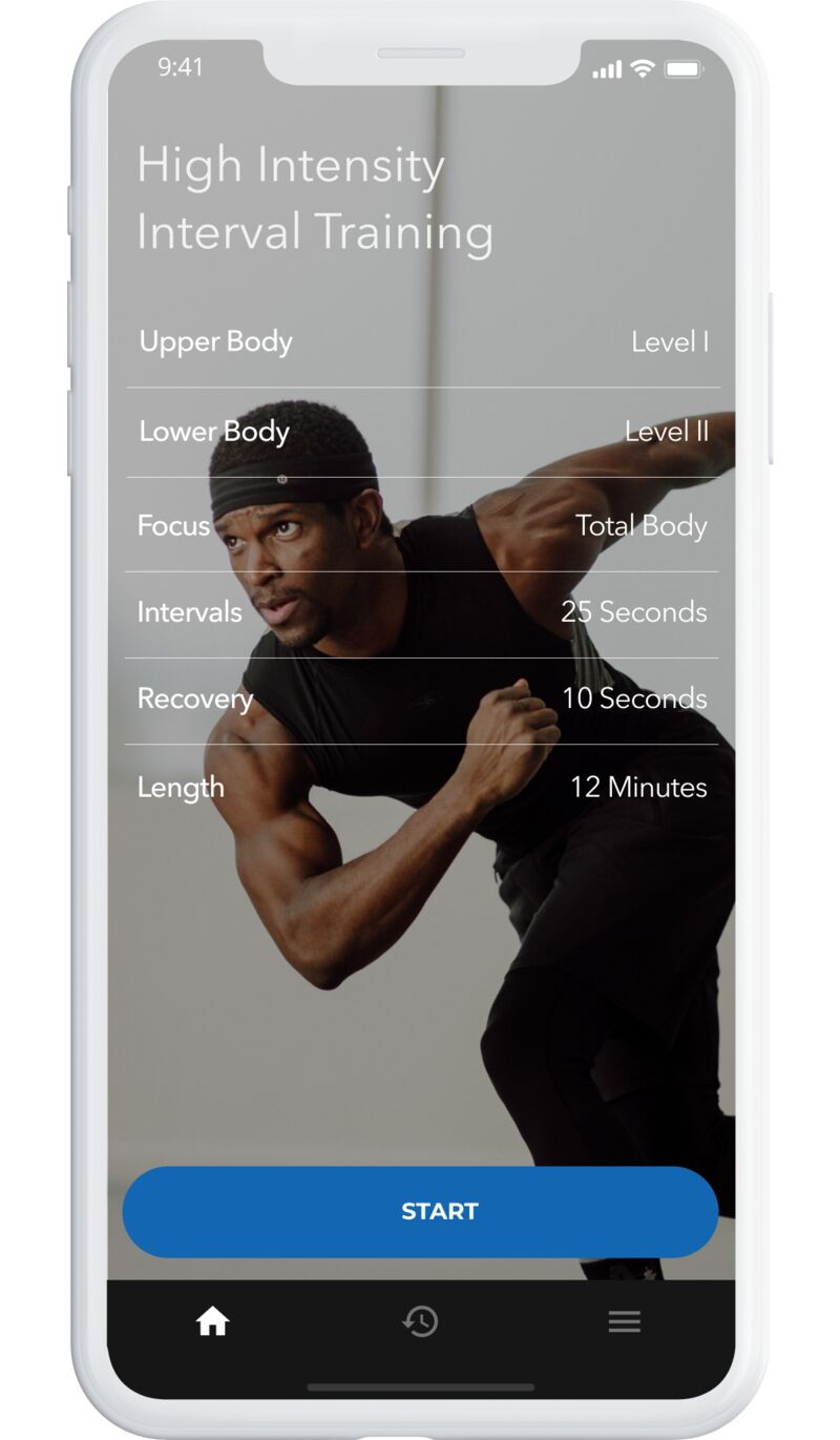 Improved Low-Cost HIIT Apps
