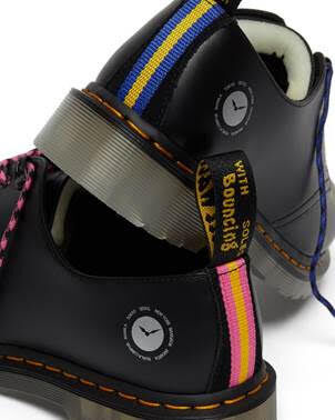 Vibrantly Stitched Resilient Footwear