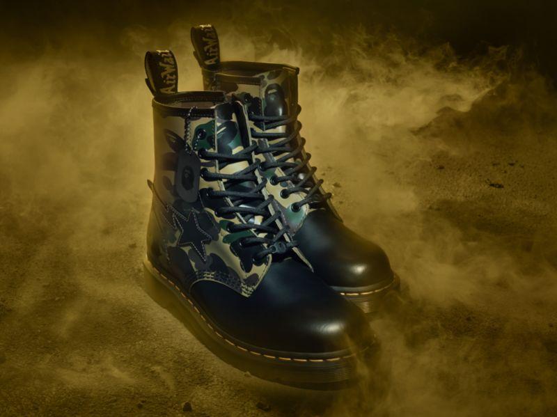 Celebratory Camo Combat Boots