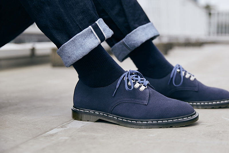 Elegant Suede Footwear Collaborations