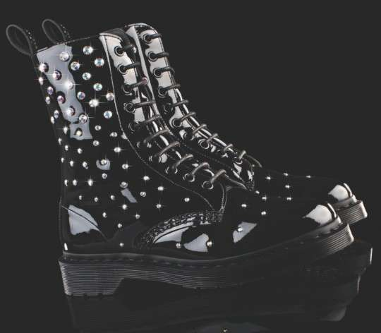 Sparkling Motorcycle Boots