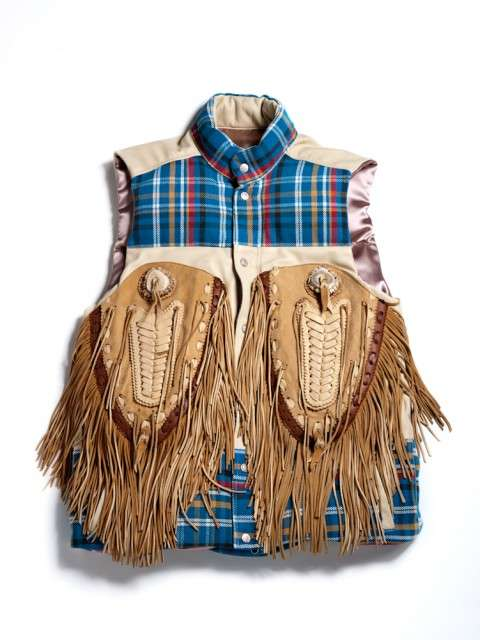 Freakishly Frayed Vests