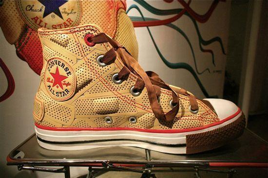 Bandaid Shoes  Dr. Romanelli s Converse Shoe for Charity d8a16279c