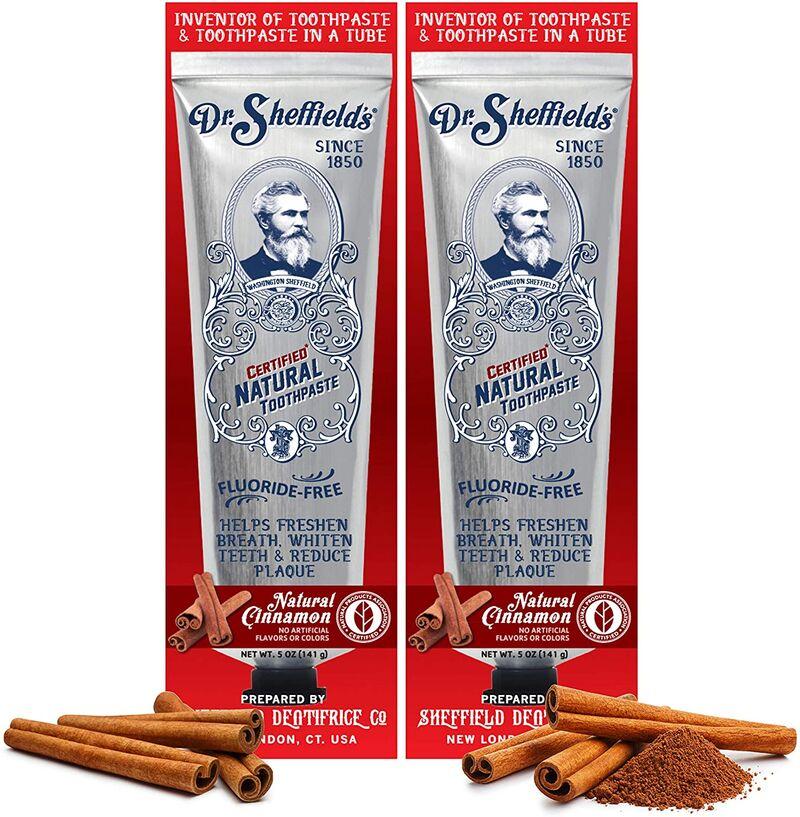 Cinnamon-Infused Toothpastes