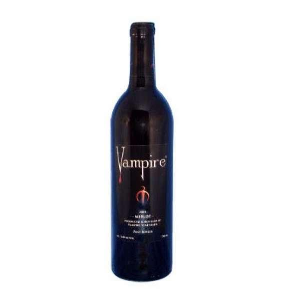 Dracula-Inspired Wines