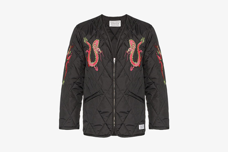 Dragon-Graphic Luxe Fashion